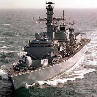 HMS Montrose will take part in Baltops, the l