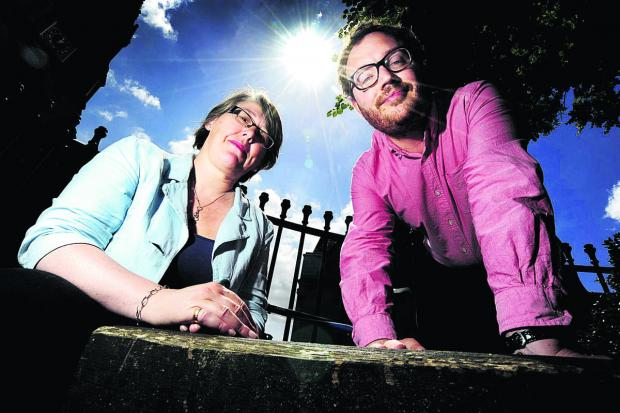 Witney Gazette: Barbara Hammond and Ed Turner