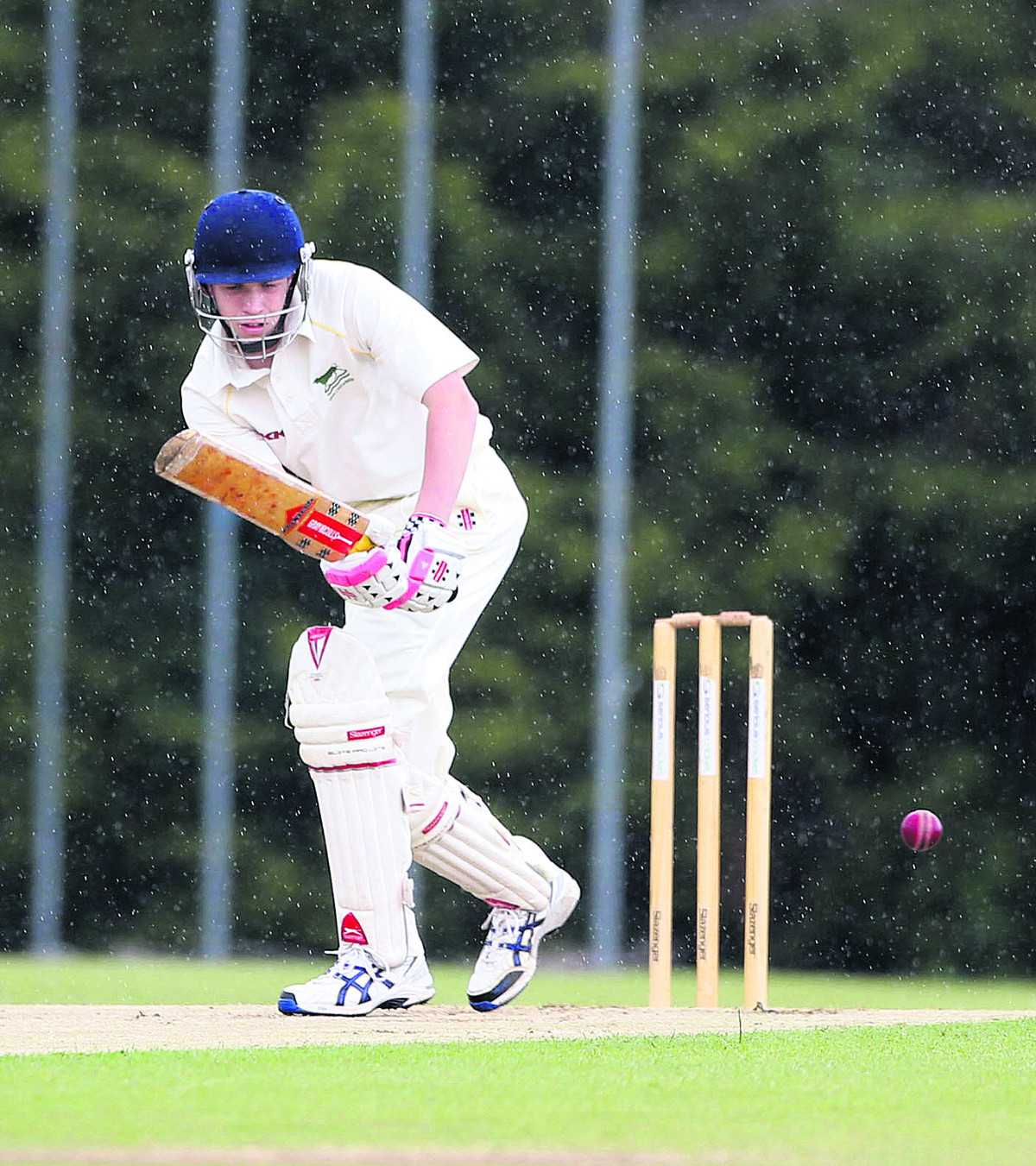 Jeremy Kirby made 92 for Shipton-under-Wychwood 2nd