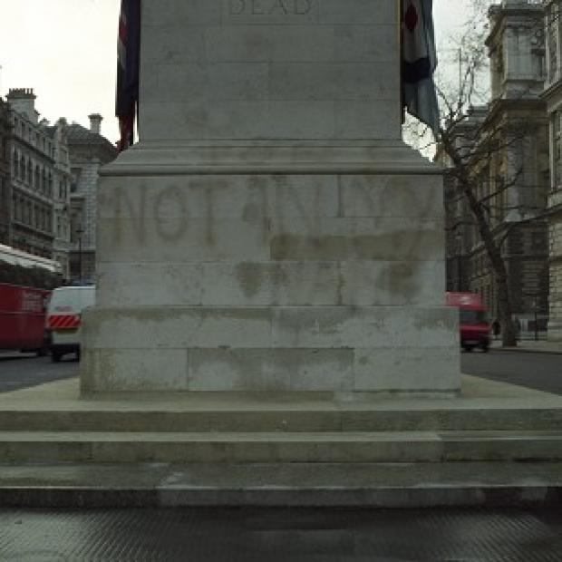 Witney Gazette: The Cenotaph in Whitehall