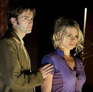 Witney Gazette: The scene which sees the Doctor say goodbye to companion Rose Tyler has topped a poll SFX magazine (BBC/PA)