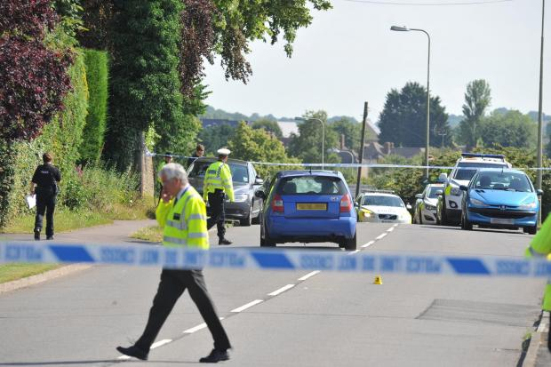 Witney Gazette: Serious collision between car and three pedestrians closes road in Witney