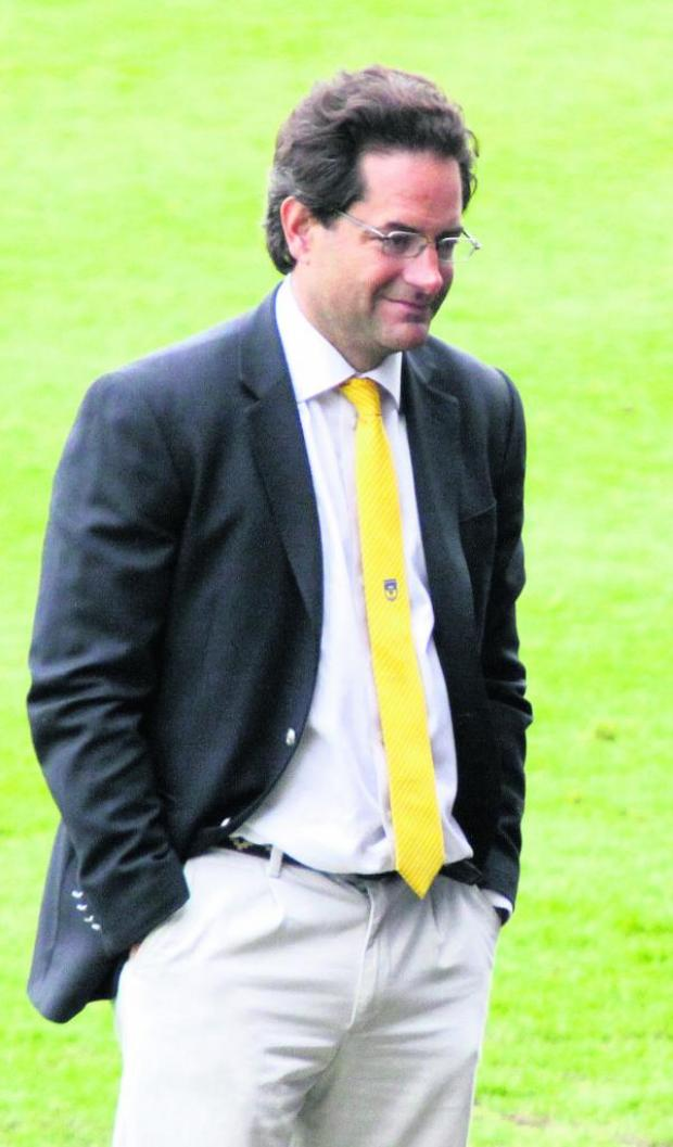 Witney Gazette: Charlie Methven says his consortium's first priority is to clear  United's debt