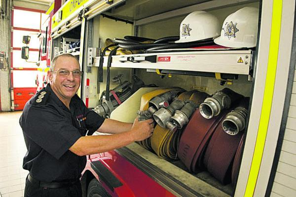Fire protection technical manager Pat Rosum. Pictures: OX68360 Antony Moore