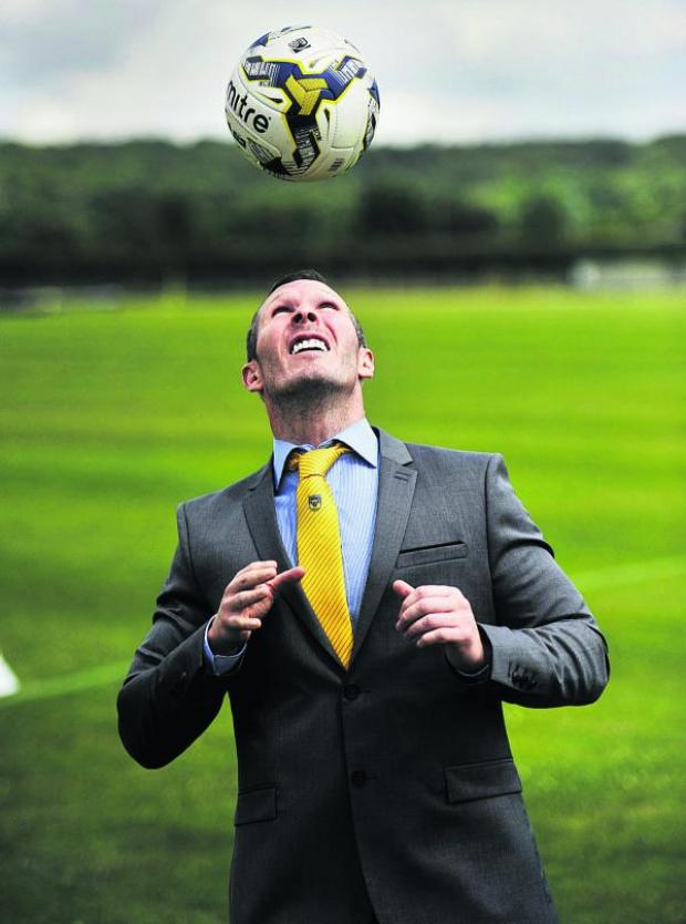 Witney Gazette: Michael Appleton began work at Oxford United today