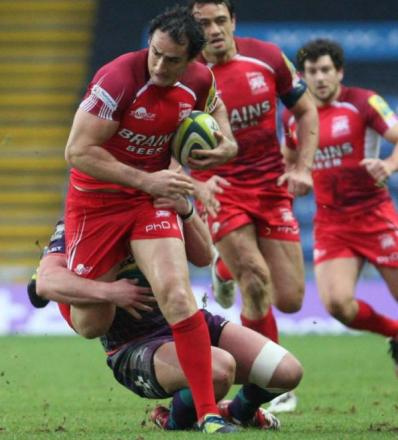 Sonny Parker in action for Exiles