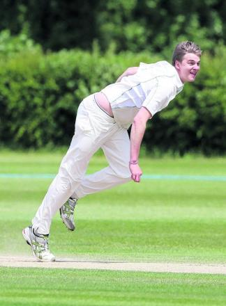 Oxford Downs' Johnny Law took 5-30 as Wolverton were skittled for 118, only for the hosts to fall short in a five-run defeat