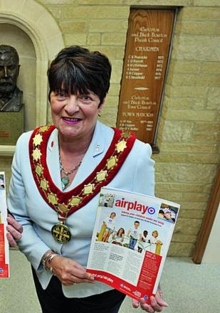 The Mayor of Carterton, Lynn Little