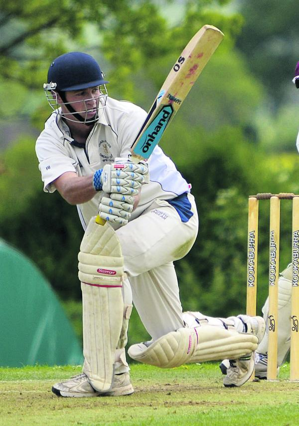 Chadlington's Richard Ingram top-scored with 65 as they defeated Hook Norton by six runs in Division 1 on Saturday