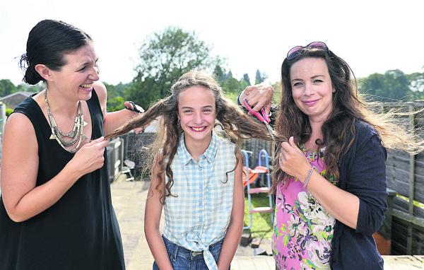 Birthday girl to give up her hair as a gift for ill children