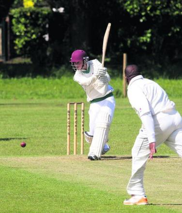Oxford Downs' Will Watts hit 53 at home to Cumnor, but it wasn't enough as they slipped nearer relegation from Division 1 following a three-wicket defeat on Saturday