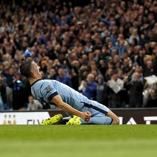 Stevan Jovetic was on target twice in Manchester City's comfortable win