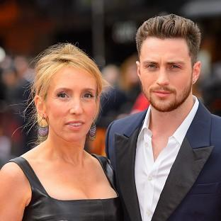 Sam Taylor-Johnson was left red-faced after police were ca