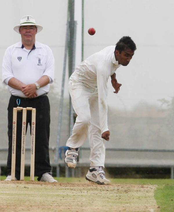 Shipton-under-Wychwood's Anupam Sanklecha took 5-31 during their four-wicket victory over Chesham in Division 2