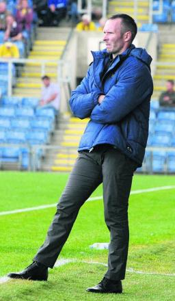 Oxford United head coach Michael Appleton thinks the side's patchy results will turn    Picture: Steve Wheeler Order no: OX69549