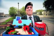 Jim Lewendon, chairman of the Oxfordshire branch of the Royal British Legion, is hoping for an extra-special Poppy Appeal to mark the legion's 90th year   Picture: OX70747 Damian Halliwell