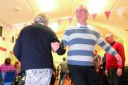 Barn dance to raise money for a new roof at the New Yatt Riding for the Disabled base  Picture: OX71184 Denis Kennedy.