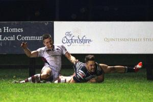 RUGBY UNION: Titans toppled as Chinnor leave it late