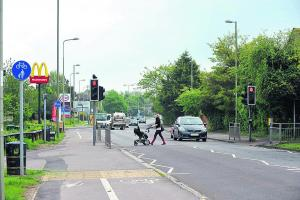 Alterations to Witney road junction look like waste of money