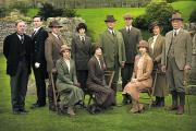 The cast of this year's Downton Abbey Christmas special