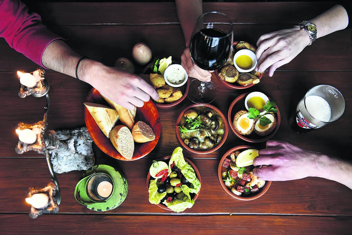 Handsome: A selection of The Star's delicious tapas