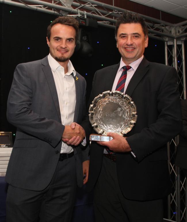 CRICKET Tews Twin Success At Leagues Awards Night