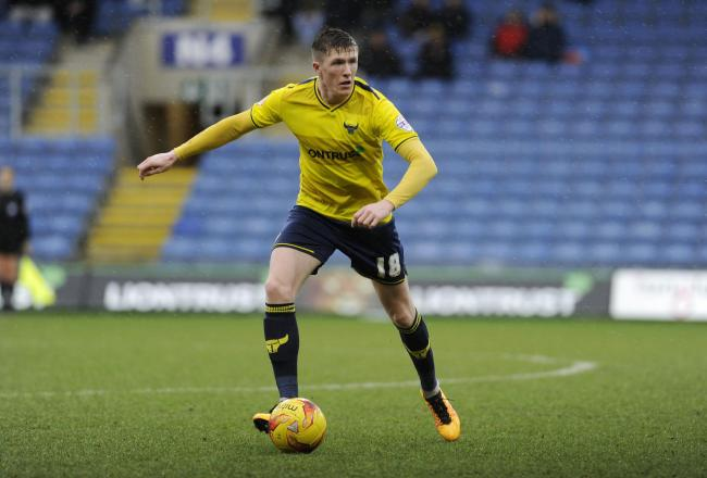 Oxford United midfielder John Lundstram hopes to return against Luton Town today after a three-match ban