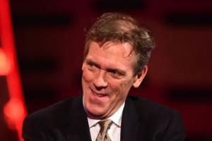 Hugh Laurie joins the stars on the Hollywood Walk of Fame