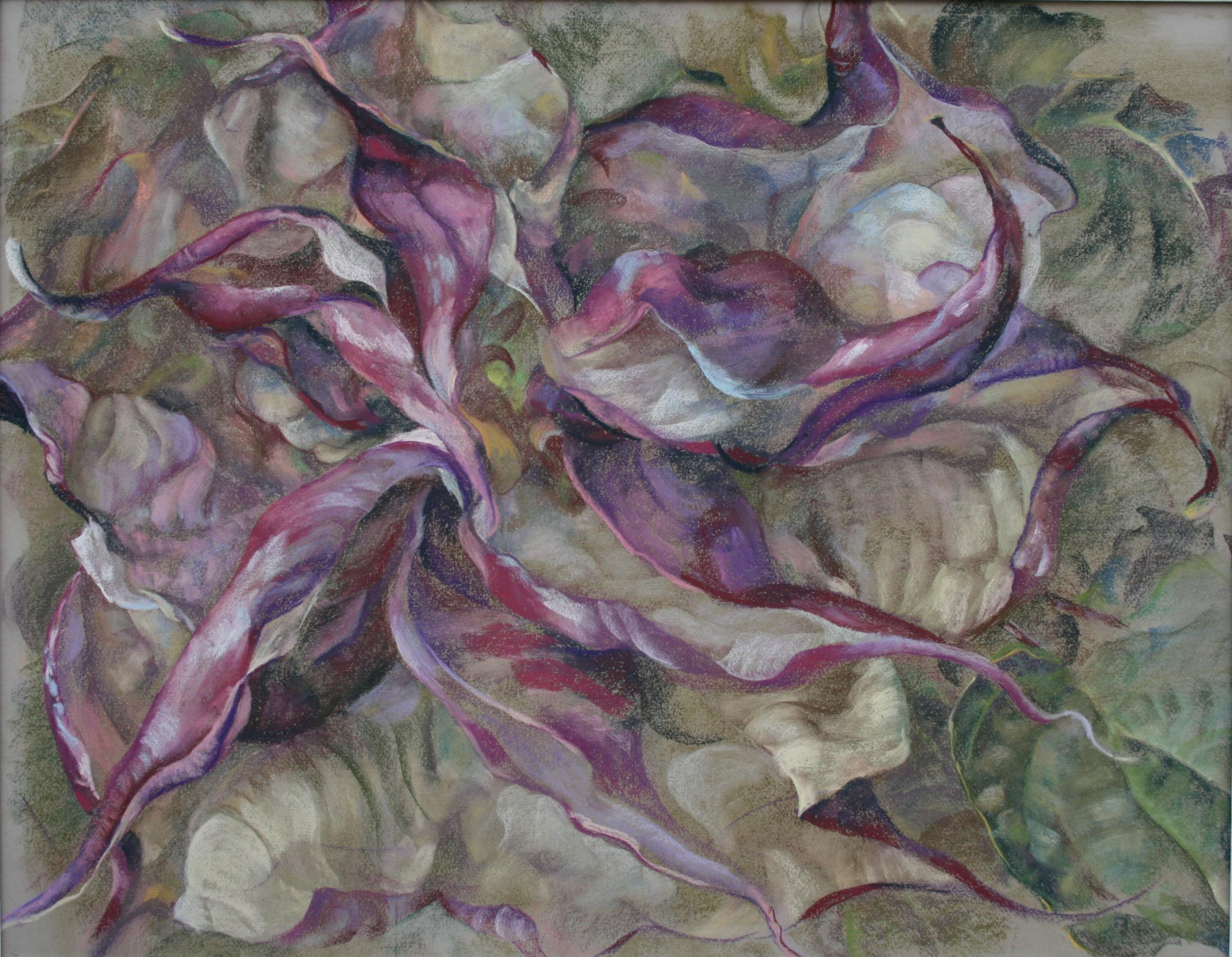 'Traveller's Poise': A solo exhibition of pastel and oil paintings by Helen Simpson