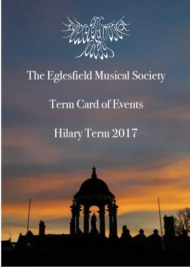 The Eglesfield Musical Society Saturday Recial Series
