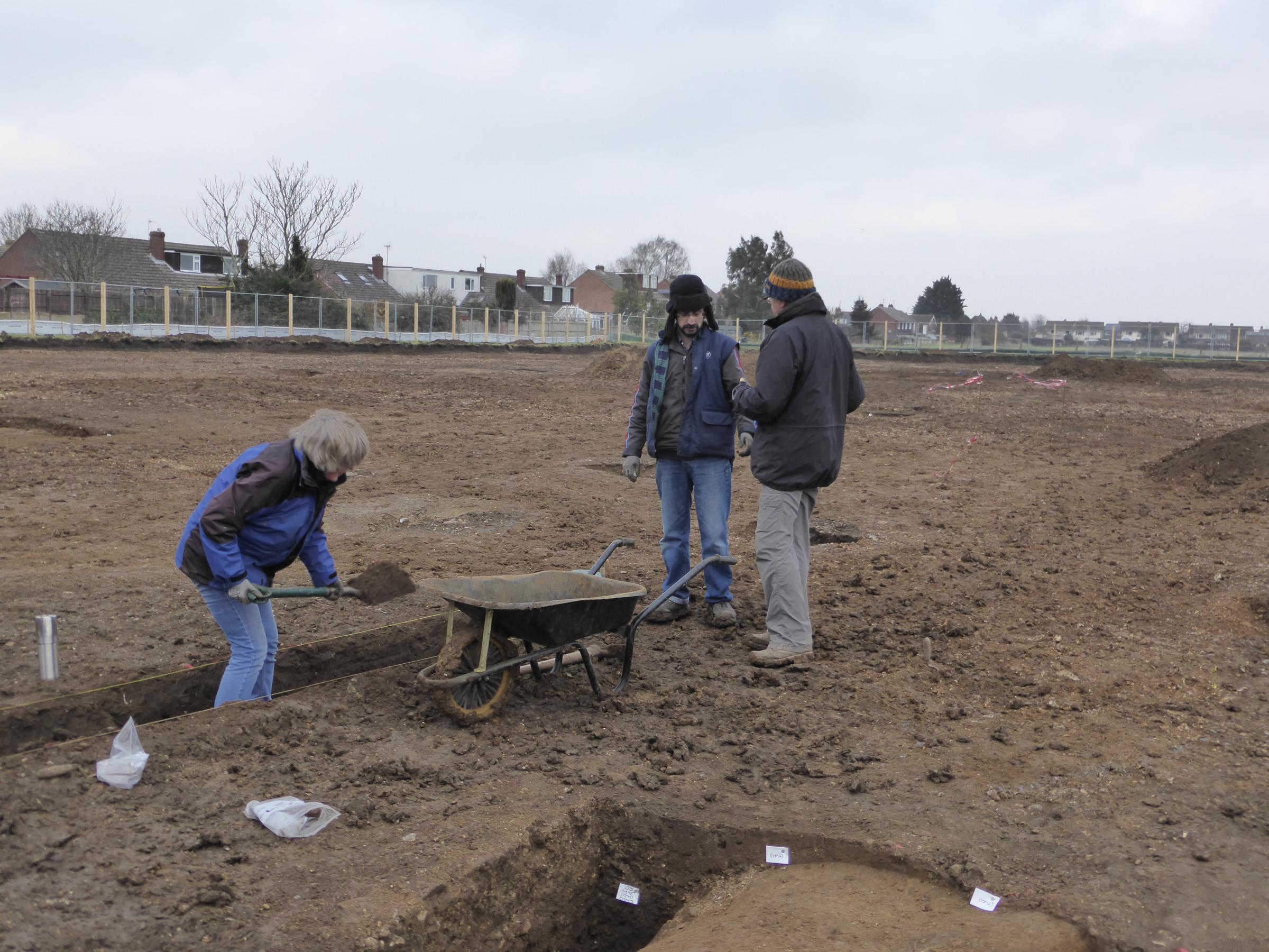Housing developers stumble on Roman villa