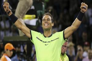 Rafael Nadal moves closer to first Miami Open success