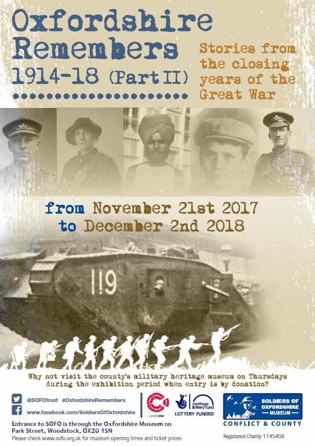 Oxfordshire Remembers 1914-18: Part II