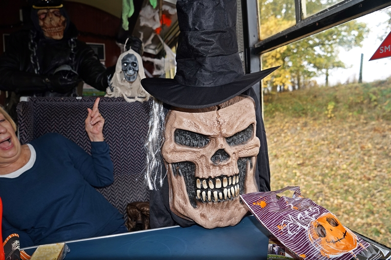 Spooks and Ghouls KIDS £1 at Chinnor & Princes Risborough Railway