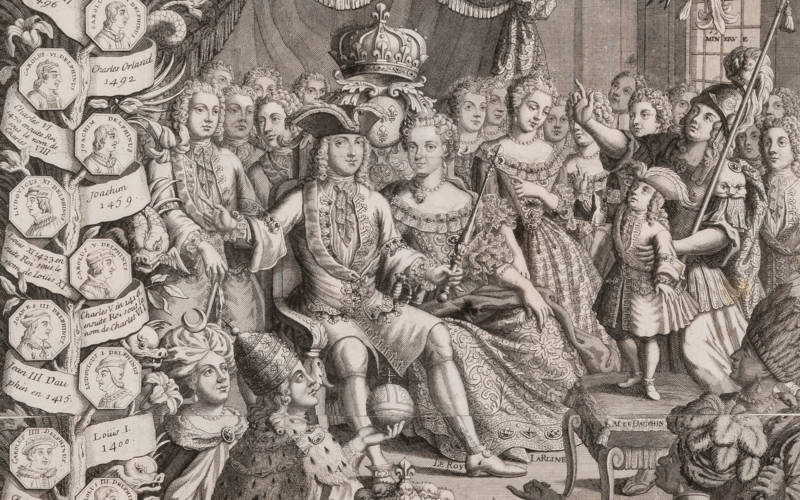 Glorious Years: French Calendars from Louis XIV to the Revolution