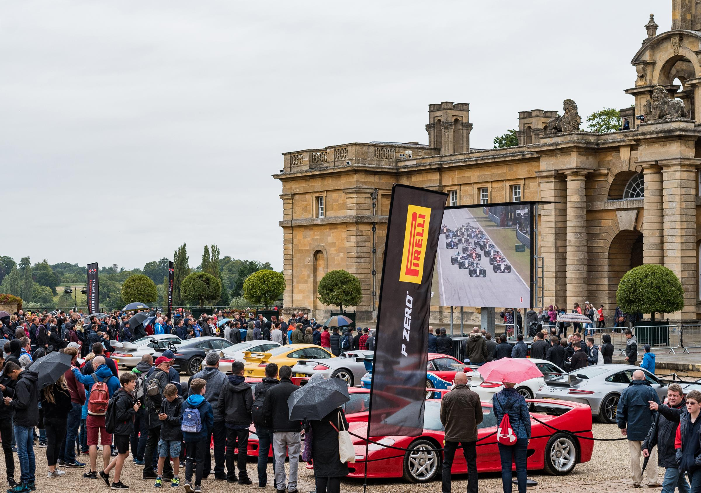 Blenheim Palace Classic & Supercar 2018