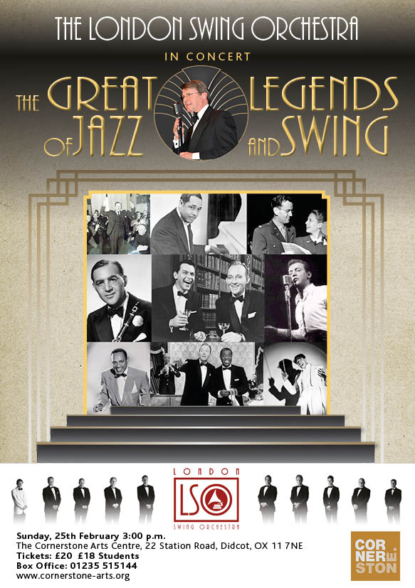London Swing Orchestra - The Great Legends of Jazz and Swing