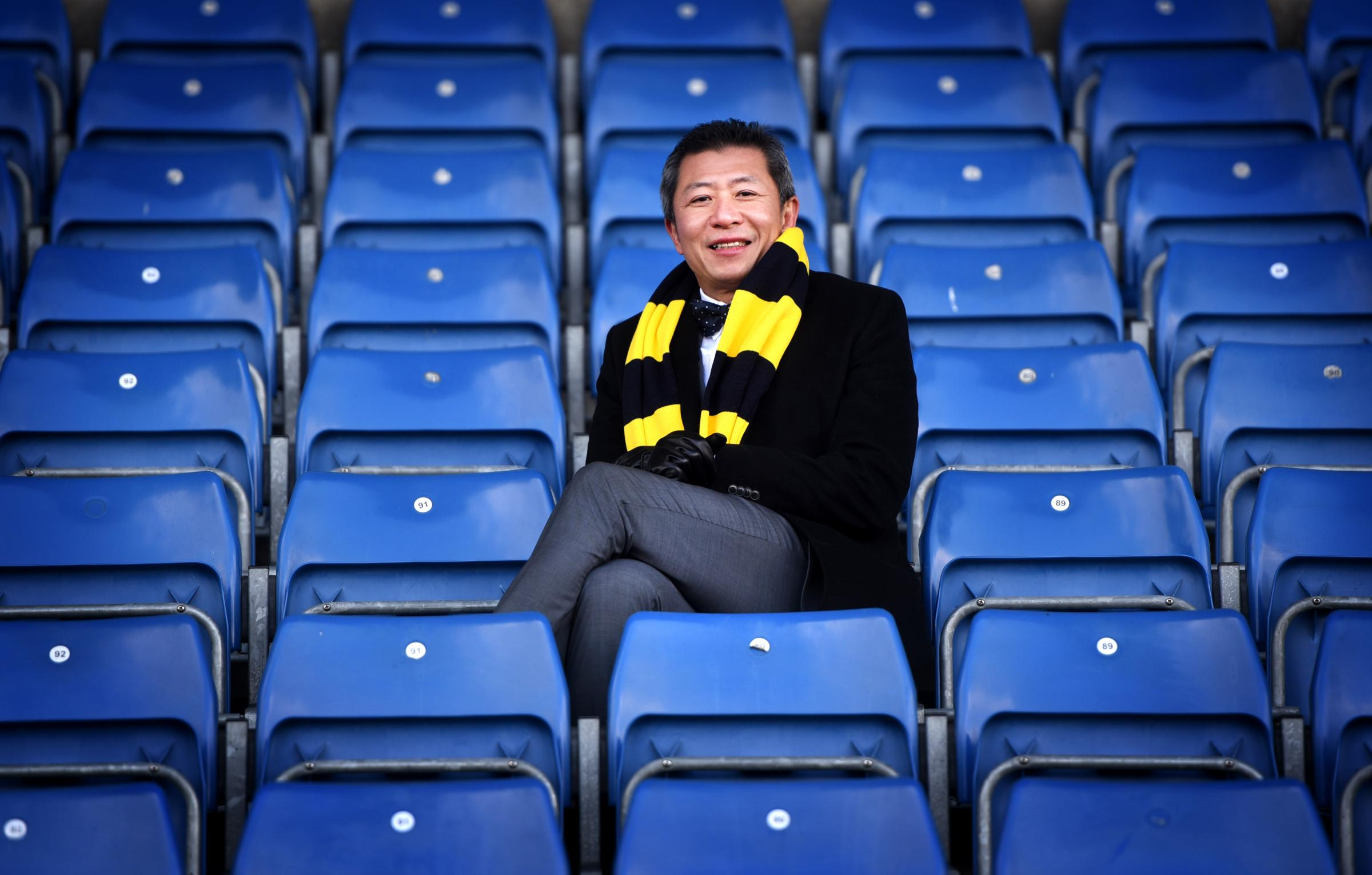 Sumrith Thanakarnjanasuth completed his takeover at Oxford United last week  Picture: Richard Cave