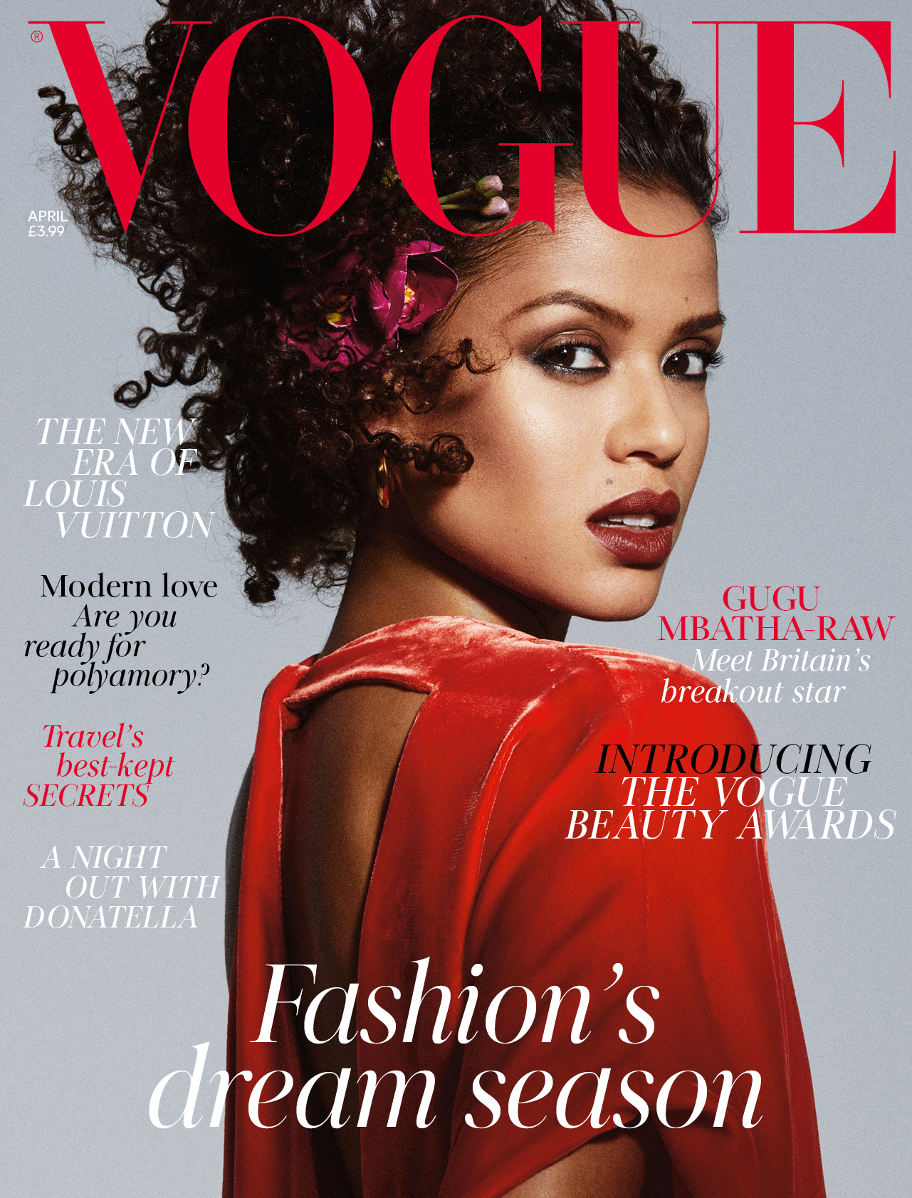 Vogue's April edition, on sale on Friday. Pic by vogue.co.uk