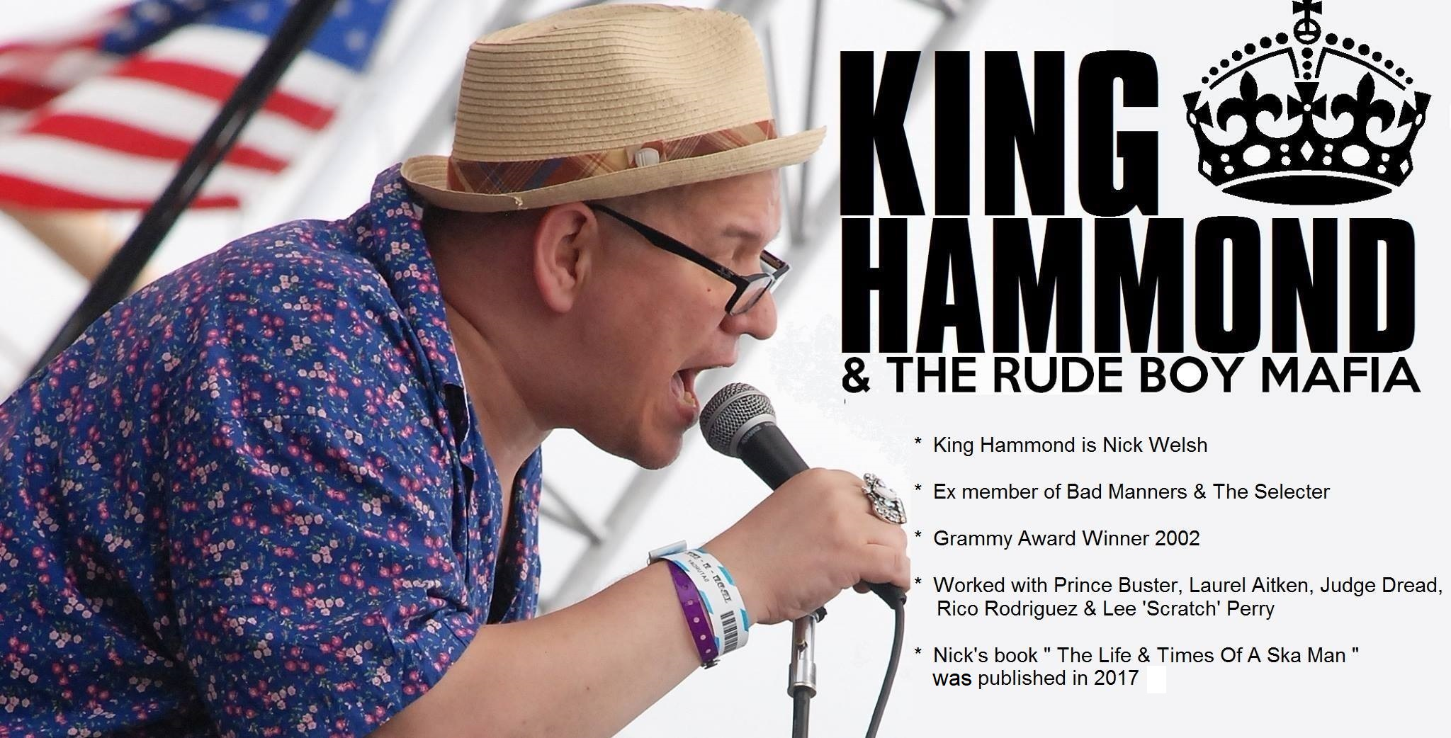 Grammy Award Winner King Hammond Live In Concert!