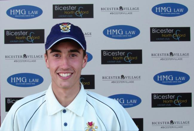 Dan Savin was all-round star for Bicester & North Oxford