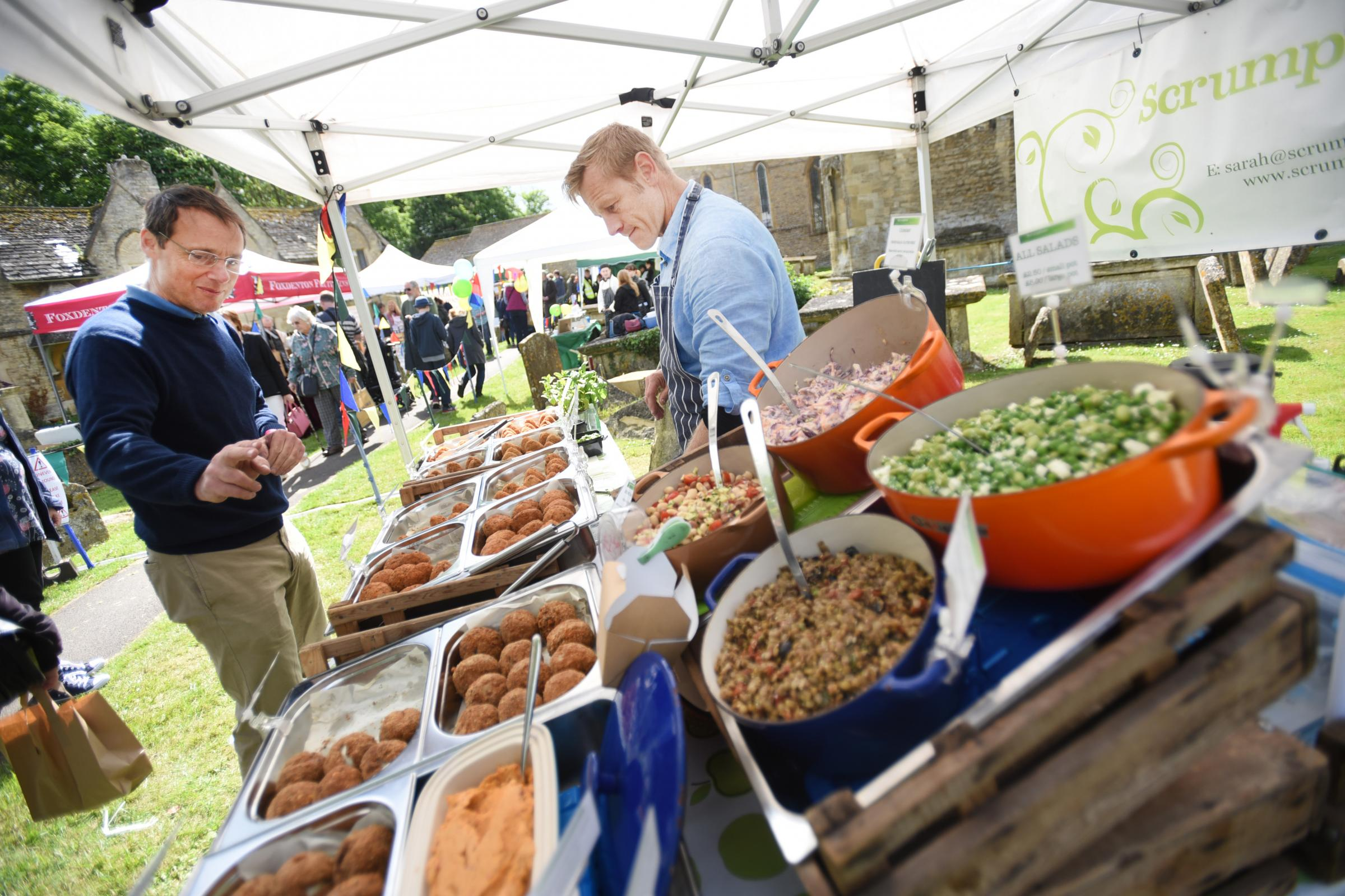 Witney Food Festival 2017. Picture: Richard Cave