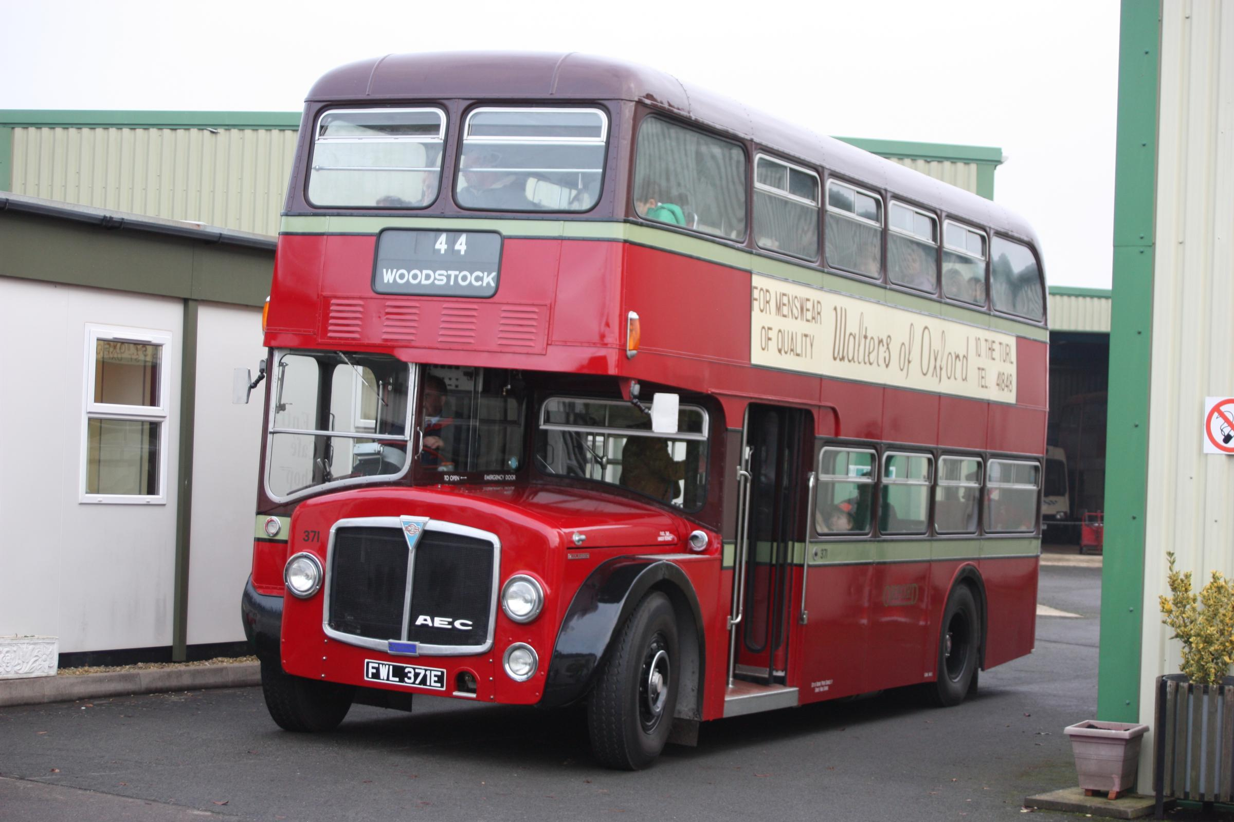 Free bus rides for Oxford Bus Museum Visitors