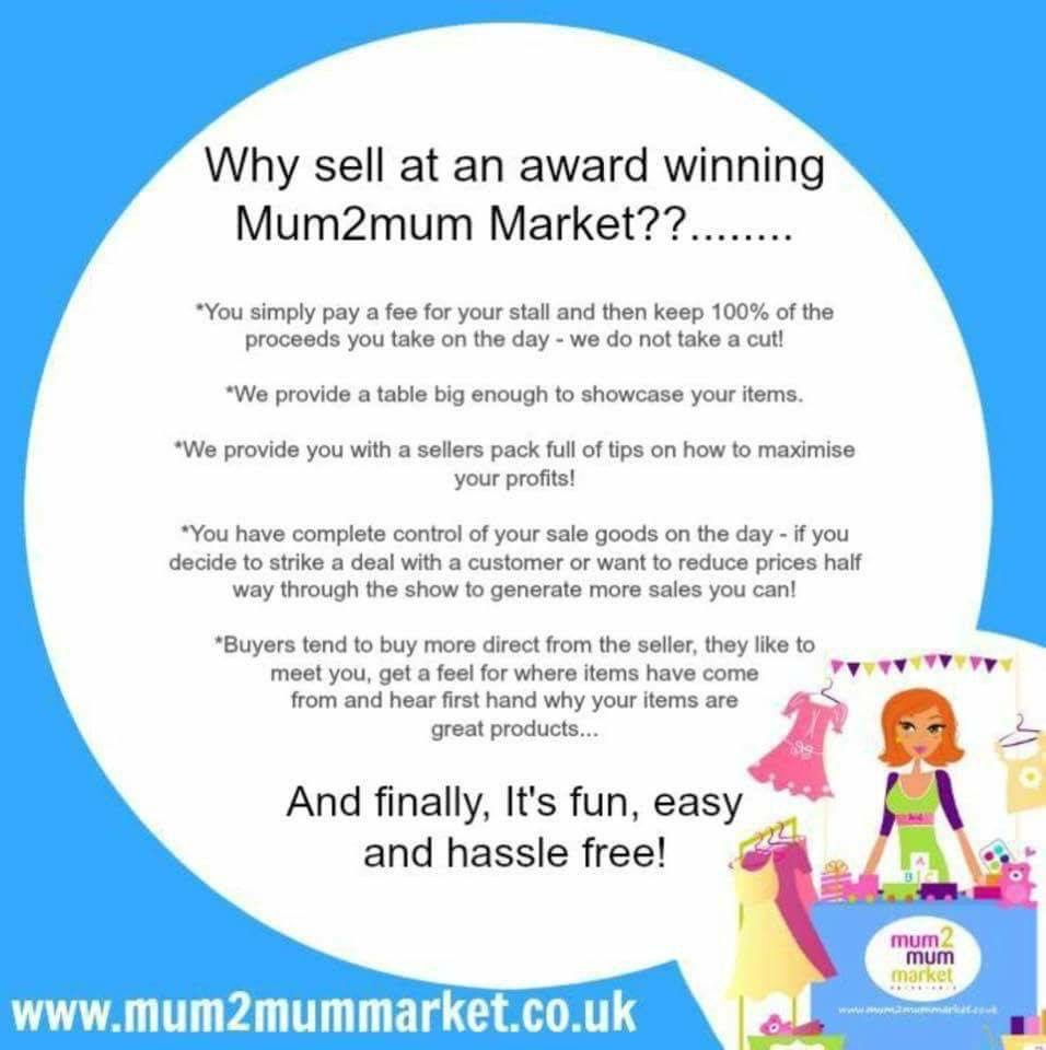 Oxford Mum2mum Market Nearly New Sale