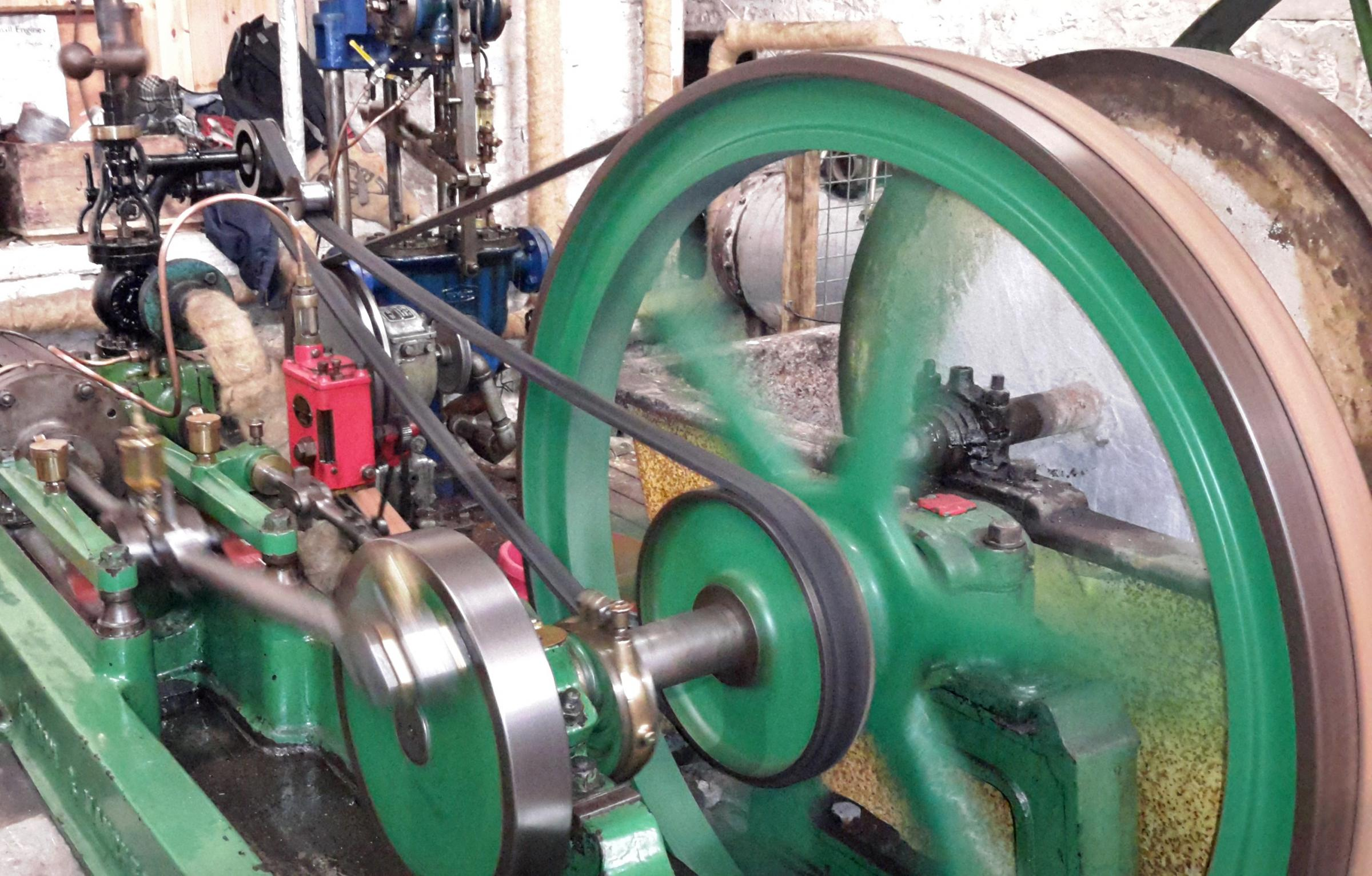 Combe Mill Steaming Day: Special Theme Model Engineering