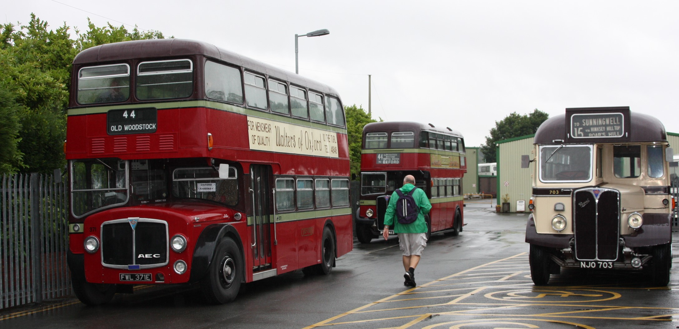 Oxford Bus Museum: Bank Holiday Vintage Bus Rides