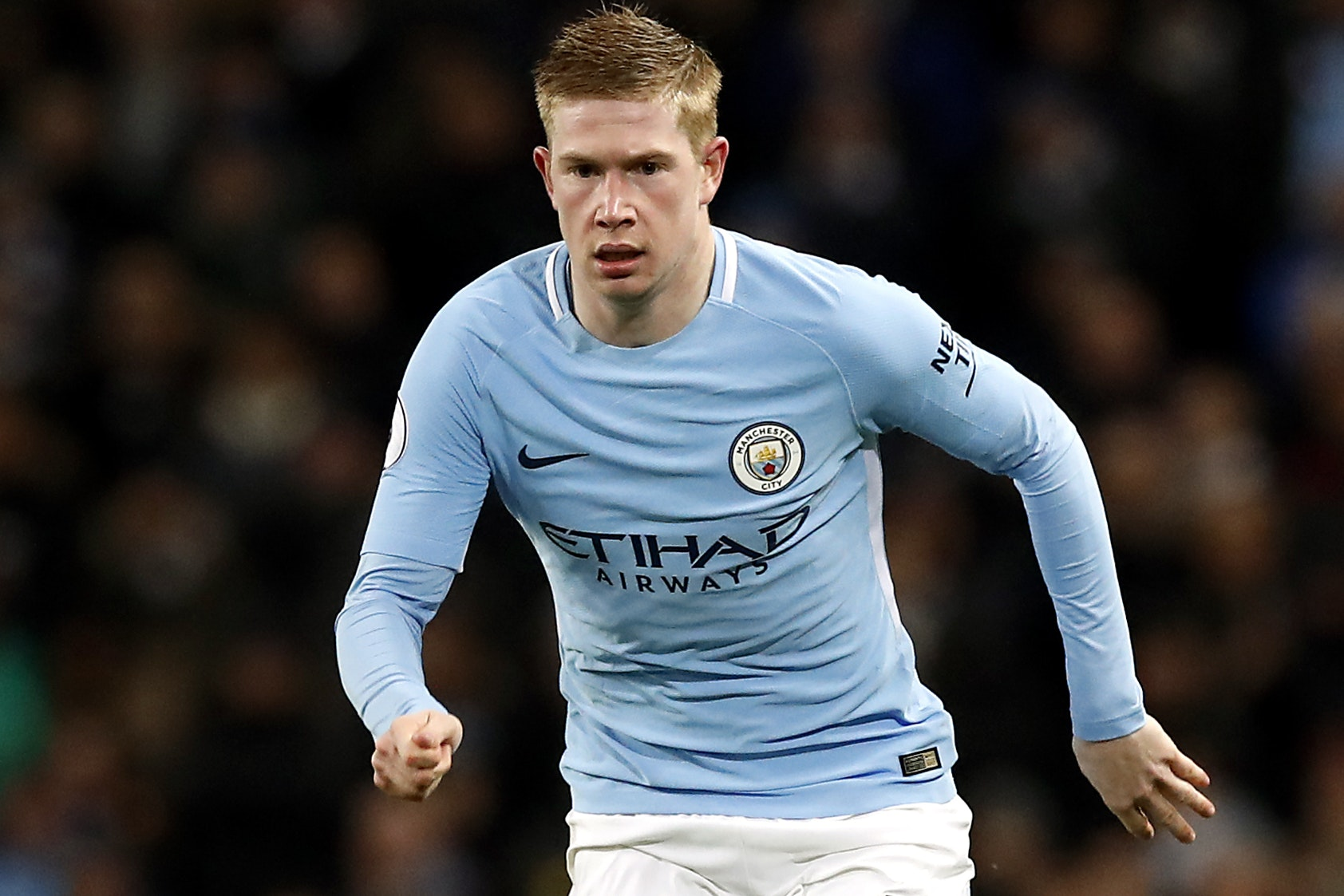 Kevin De Bruyne is set for a lengthy spell on the sidelines