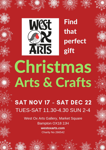 Christmas Arts & Crafts with West Ox Arts