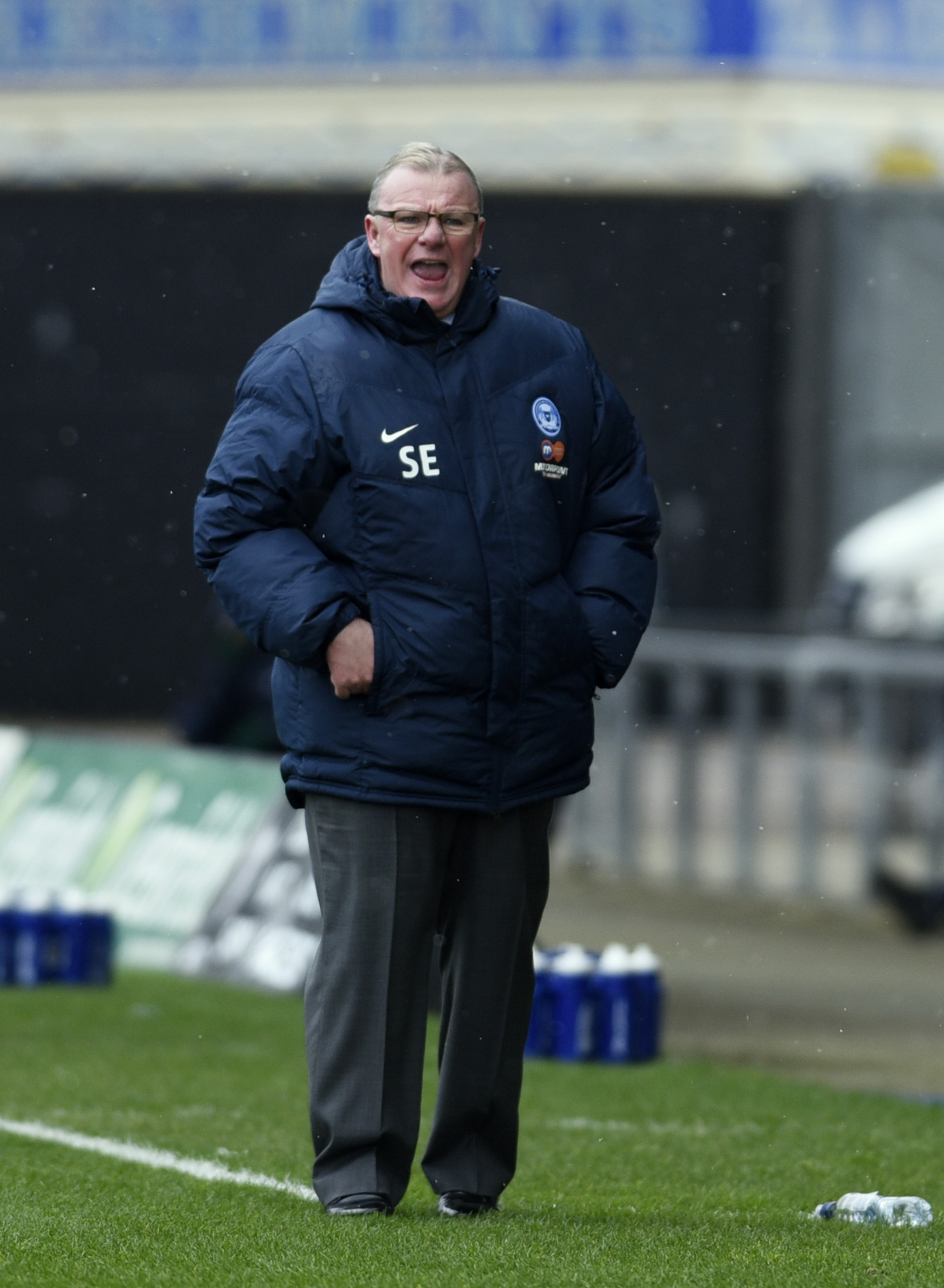Peterborough manager Steve Evans   Picture: David Fleming
