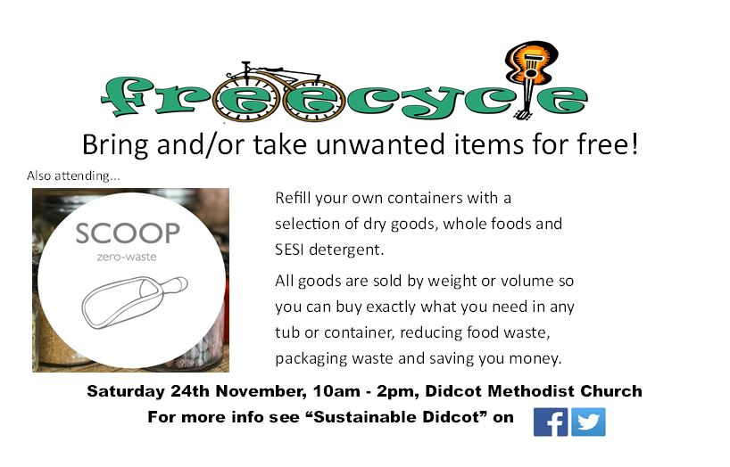 Freecycle Swap Shop and Scoop Zero Waste